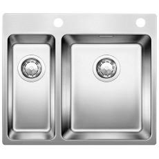 Blanco ANDANO 340/180-IF-A нерж. сталь зеркальная полировка с кл.-авт. InFino® 522996