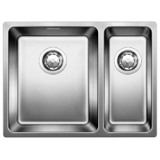 Blanco ANDANO 340/180-IF нерж.сталь зеркальная полировка с отв. арм. InFino®, левая 522975