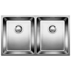Blanco ANDANO 340/340-IF нерж.сталь полированная с отв. арм. InFino® 522981