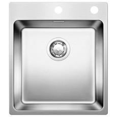 Blanco ANDANO 400-IF-A нерж. сталь зеркальная полировка с кл.-авт. InFino® 522993