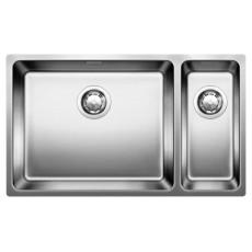 Blanco ANDANO 500/180-U нерж.сталь полированная с отв. арм. InFino®, левая 522991